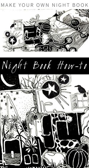 Make Your Own Night Book by Col Mitchell Contemporary Paper artist