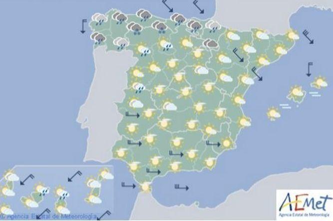 El martes empiezan las lluvias que serán generalizadas toda la semana