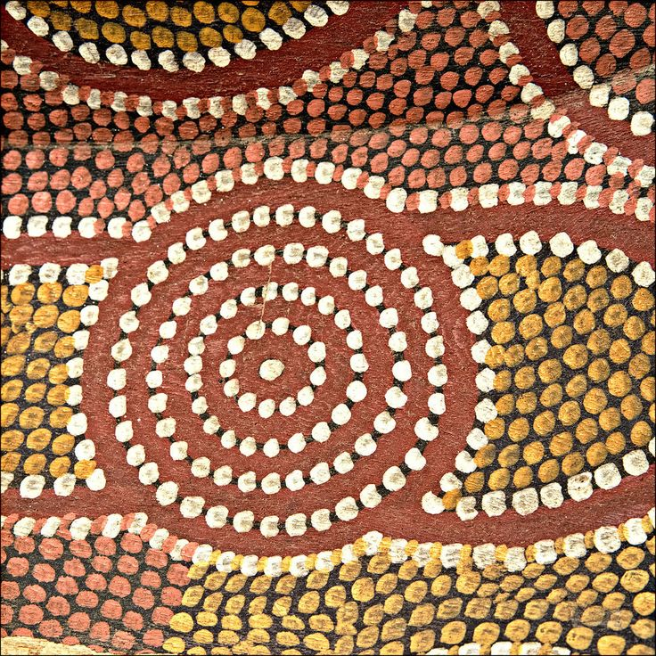 BILLY STOCKMAN Tjapaltjarri - Magnificent Old Dot Painted Aboriginal Coolamon