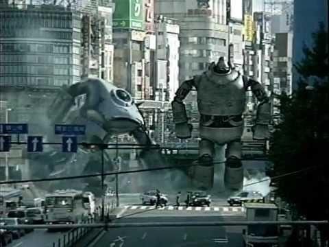 いいなCM NTT docomo for PC 鉄人28号 Gigantor 夕輝壽太