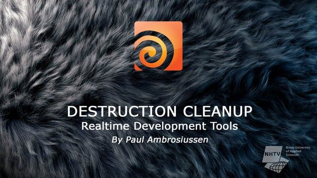 DOWNLOAD: https://www.orbolt.com/asset/Ambrosiussen::DestructionCleanup MORE INFO: http://ambrosiussen.com/subpages/rbdsimcleanup.html The Destruction Cleanup HDA is part of the realtime-development tools made by Paul Ambrosiussen, targeted at optimizing a destruction simulation before exporting it to third party applications like Unreal Engine, Unity, Maya or 3DsMax. The tool offers a multifold of parameters to tweak in order to achieve the desired cleaned up result. Parameters inclu