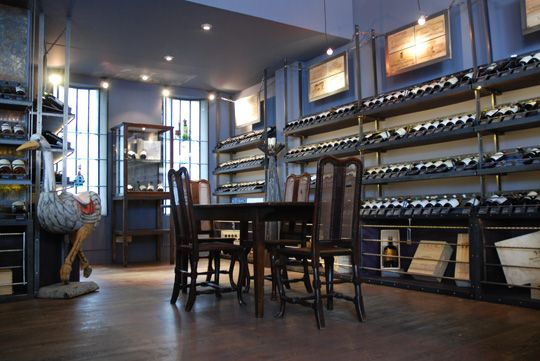 Roberson Wine Merchant, High Street Kensington. A great independent wine merchant full of knowledge and enthusiasm.
