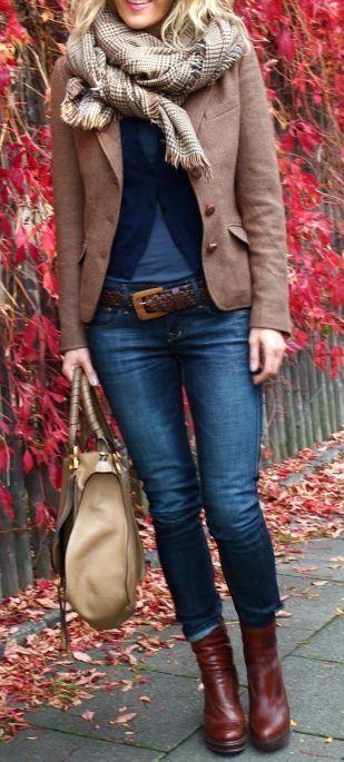 #fall #fashion / layers
