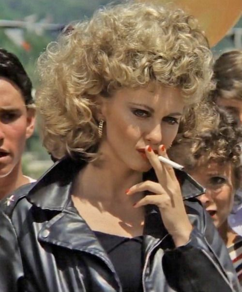 Tell me about it. STUD. Olivia Newton John in 'Grease', 1978.