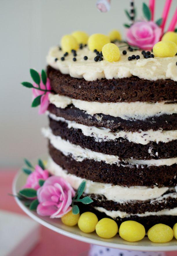 whimsical little cake