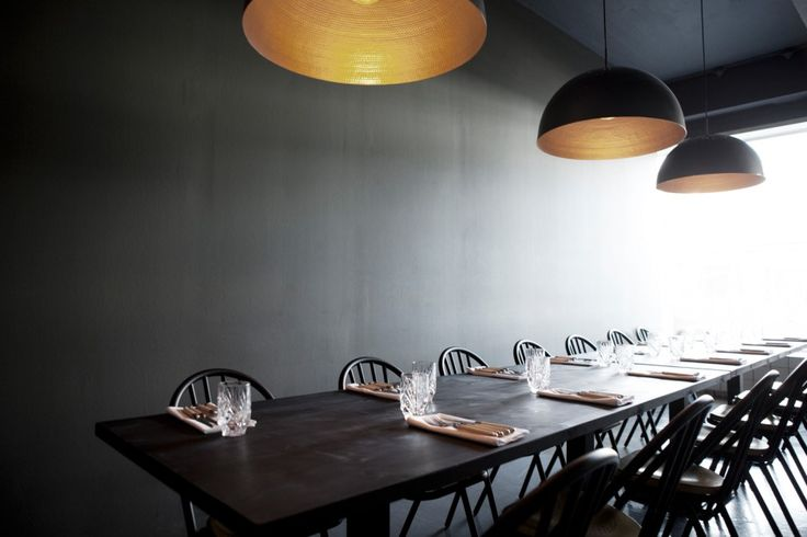 I'm really in love with the new Kul restaurant designed by Space Copenhagen. The dark walls draw all the attention to what's on the table and makes the space very cozy. I would love to spend an evening with friends … Continue reading →