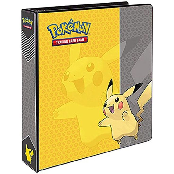 "Pokemon Pikachu 2"" 3 Ring Binder Card Album Pokemon Collector Kids Colors Vary  #UltraPro"
