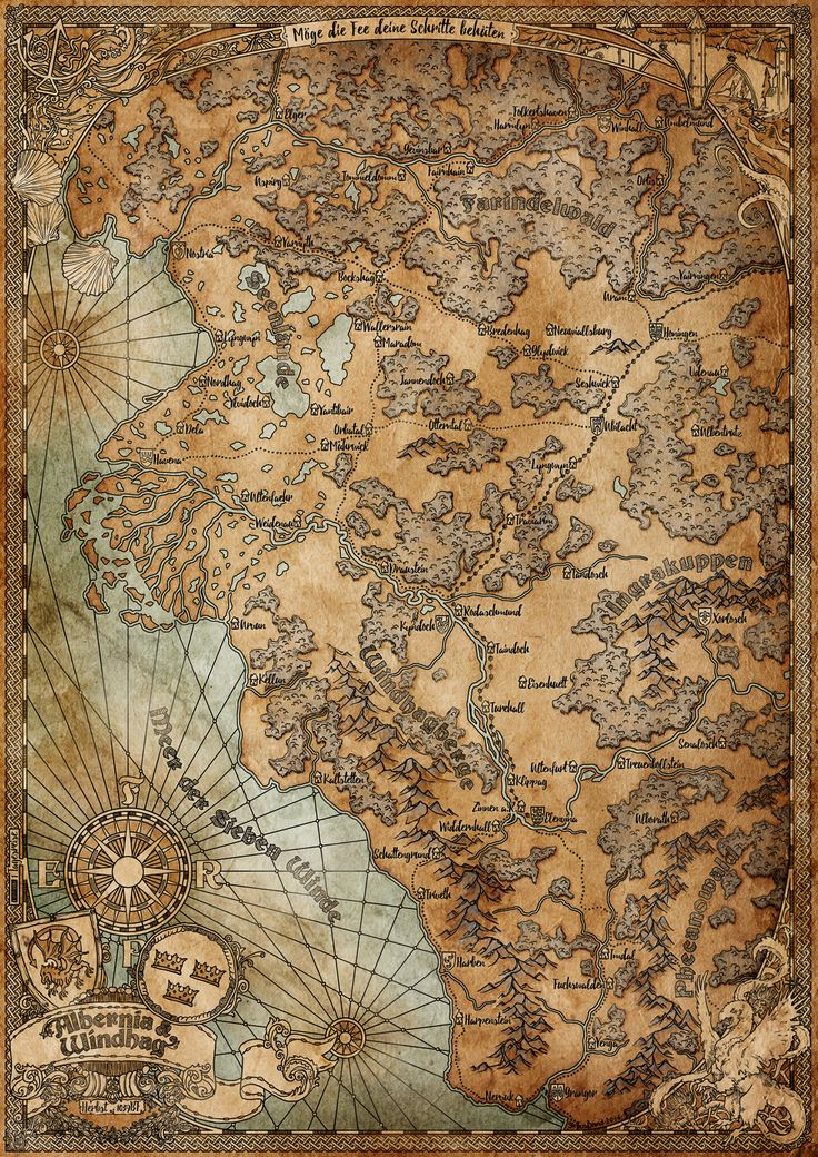 Canadian Map Before Confederation%0A Albernia  u     Windhag  Aventuria   by SteffenBrand   finalist of the most  creative map