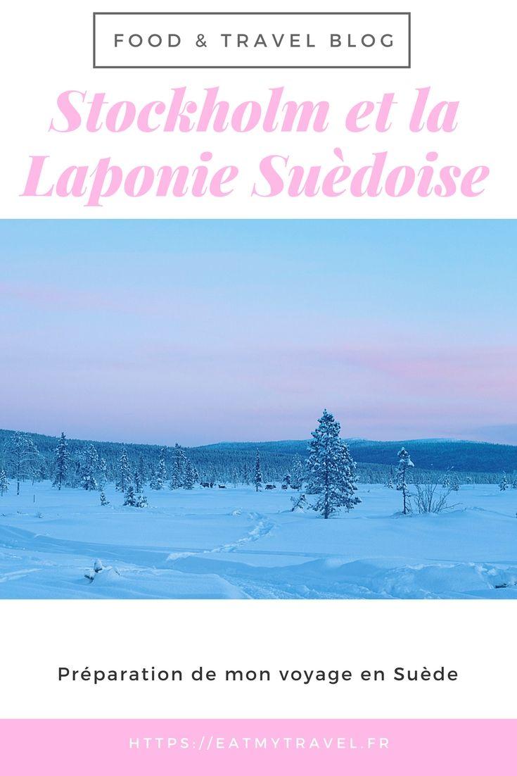 Préparation de mon voyage en Suède : Stockholm en Laponie Suédoise #travel #blog #nature #landscape #blogging #travelblogger #sweden #suede #stockholm #Lapland