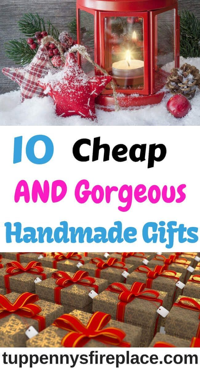 10 Best Homemade Gifts For Christmas - No Cooking Required ...