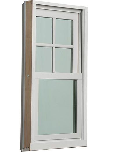 Revive Hybrid (cellular PVC and aluminum clad) double-hung pocket replacement windows from Windsor Windows & Doors. Fine craftsmanship at a fair price, built to order, quick installation, and minimally invasive.