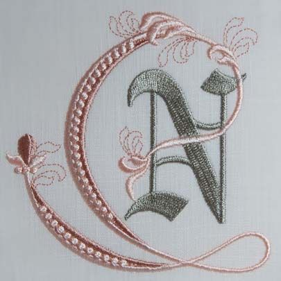Fleur de Lis Alphabet- N: Sonia Showalter: