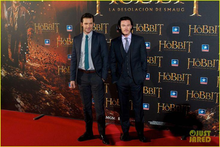 Luke Evans 2013 | Luke Evans: 'Hobbit' Madrid Premiere with Richard Armitage!
