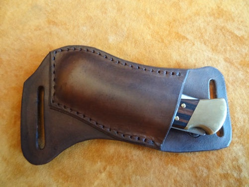horizontal carry knife sheath. I've been looking for something like this. Good to carry on the small of your back.
