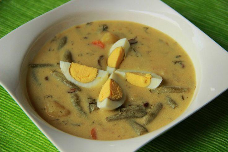 Fazolková polévka s chutí kulajdy