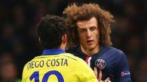 David Luiz mengatakan Diego Costa akan diterima