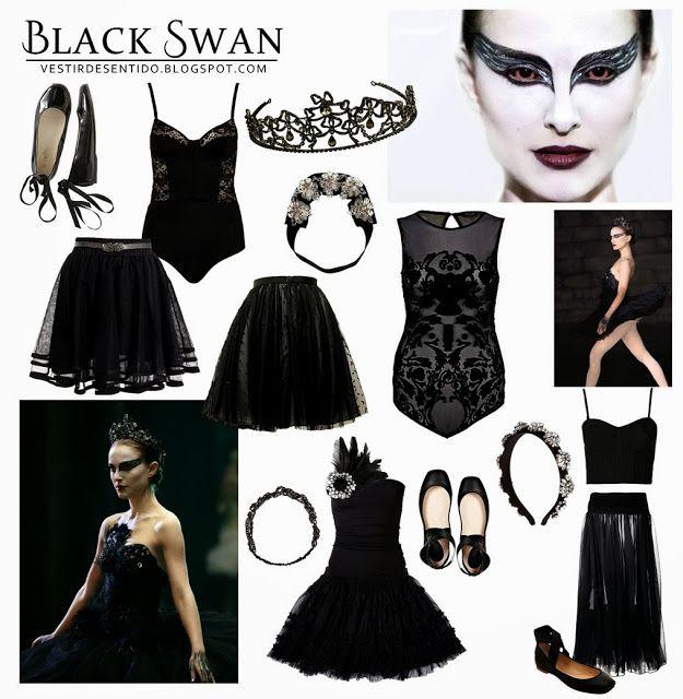 DIY Halloween Costume - Black Swan