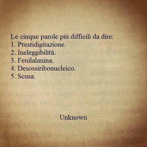 Parole difficili<3
