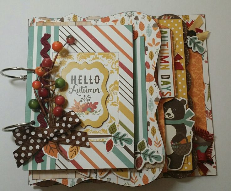 Made with Echo Park Fall is in the Air.                                                                                                                                                                                 More