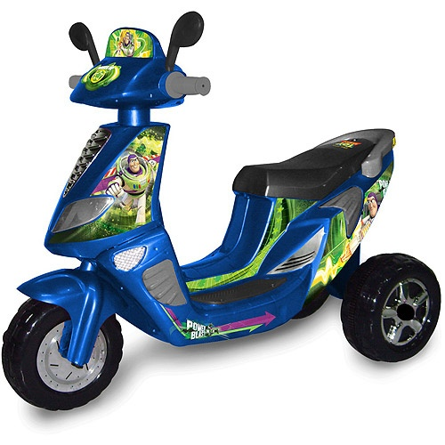 Walmart Toys Scooters For Boys : Disney toy story wheel scooter volt battery powered