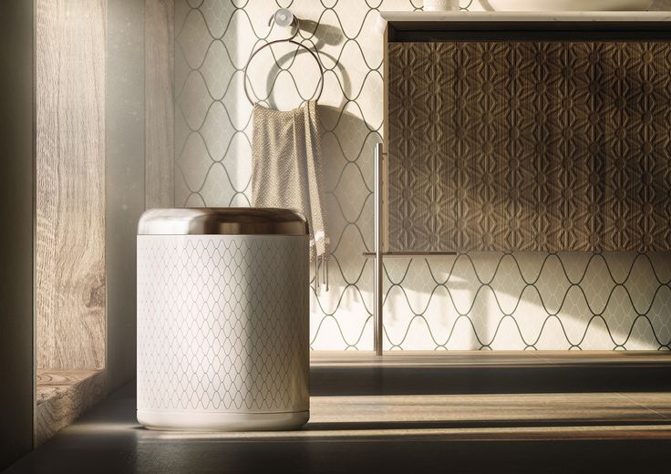 #Porcelain #Wastebin. #Equilibrium collection. Designed by #edwardvanvlietofficial by #pomdorbathwolrd and #official_rosenthal.