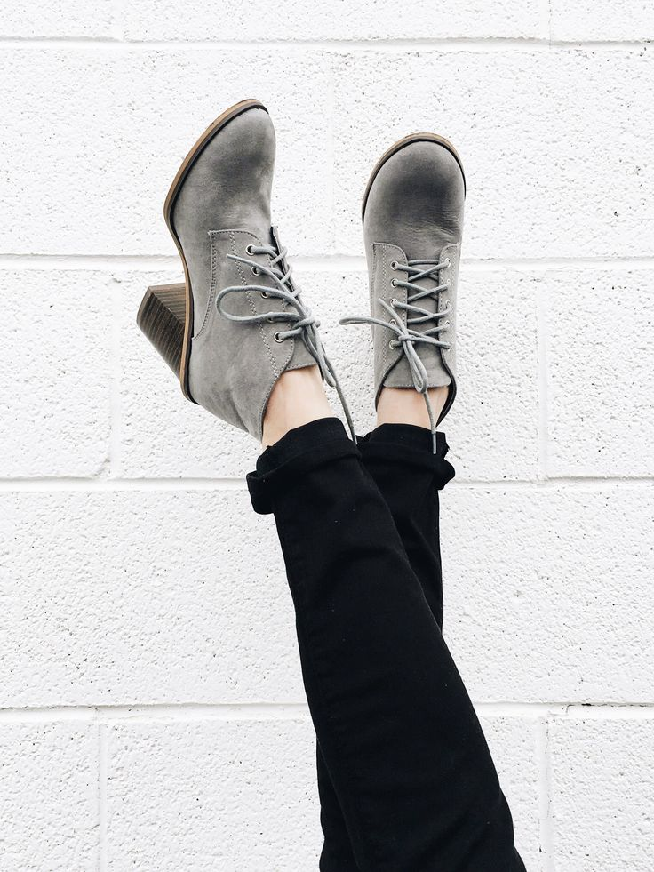 Grey Booties | ROOLEE