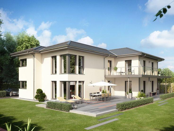 Unser CELEBRATION 282 V5.  #Haus #Fertighaus #Hausbau #Design #Architektur #Zweifamilienhaus #House #BienZenker