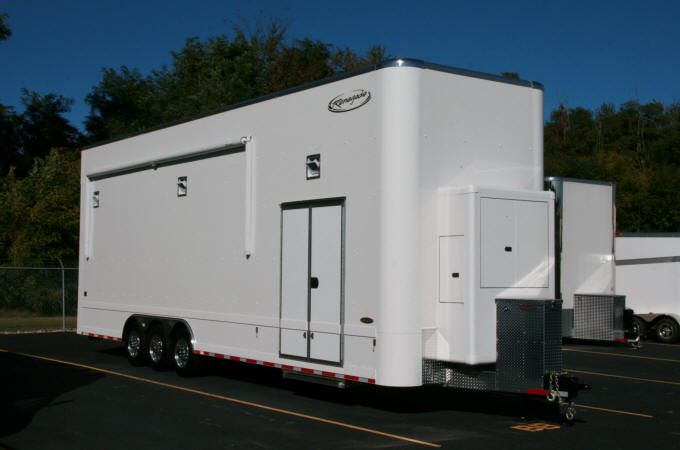 32' Renegade Trailers Vintage Stacker enclosed car trailers