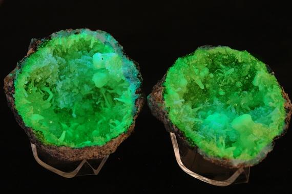 Green Amethyst Geode : Green geodes pinterest