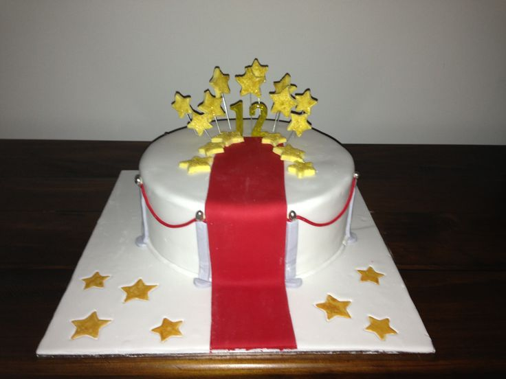 Red Carpet Cake Images : Red carpet Hollywood themed party Jodie s Cakes ...