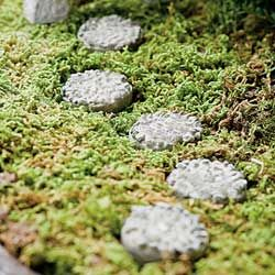Fairy Garden Stepping Stones 63 best lll paths patios for miniature gardens images on pinterest fairy garden miniature stepping stone round set of 5 workwithnaturefo