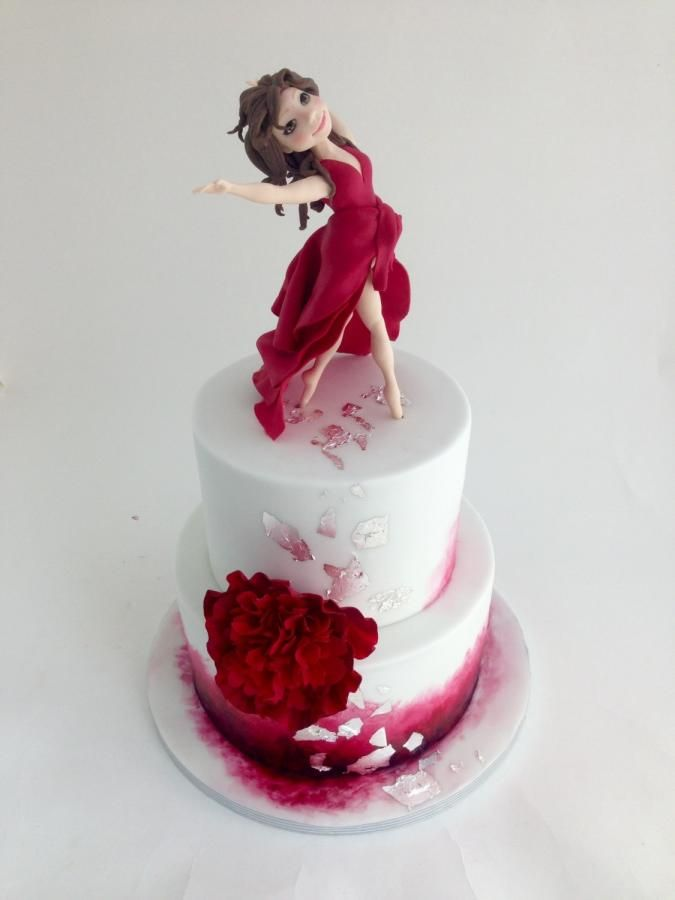 Dancing-girl - Cake by tomima