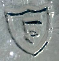 depression glass company markings | Federal Glass Company Mark - Maker's Marks and Signatures on Glassware ...