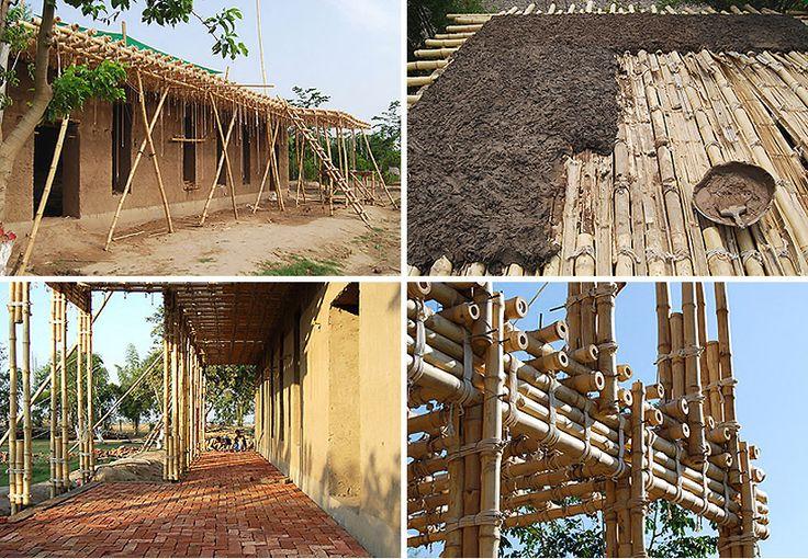 ziegert roswag seiler architekten ingenieure: earthen school in pakistan | designboom