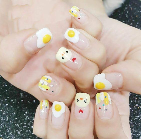 Nails; Natural Nails; Solid Color Nails; Acrylic Nails; Cute Nails;Wedding Nails… – Nail