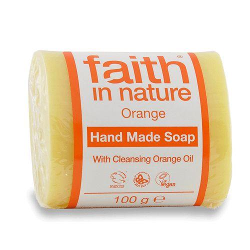Faith In Nature Orange handmade soap 100g
