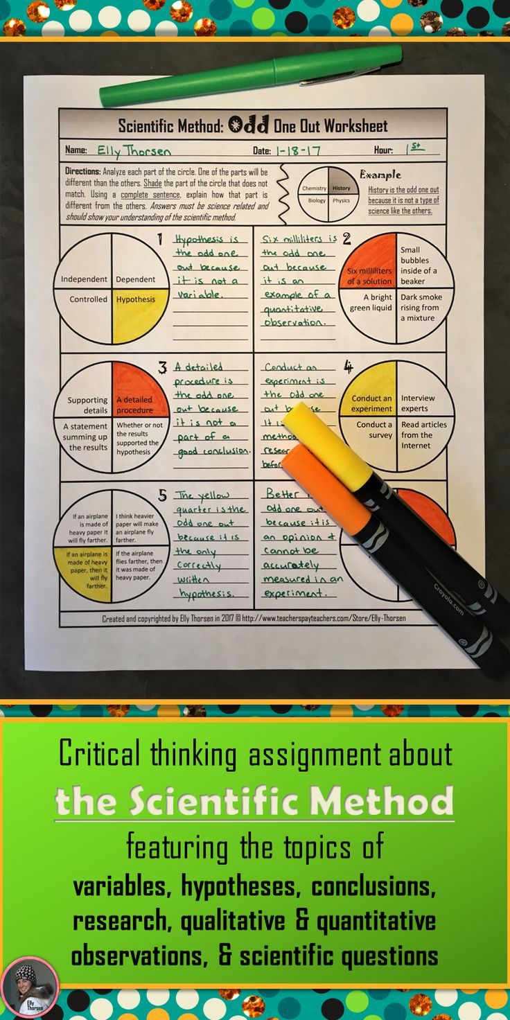 Find challenging critical thinking worksheets about a variety of science  topics including genetics  physical science  the scientific method   measurement and