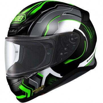 Kawasaki Green helmets are now available in the Shoei range with the all new Shoei NXR Helmet coming onto the market. This would be perfect for a Kawasaki Racing Green Ninja on track days to match the bike.