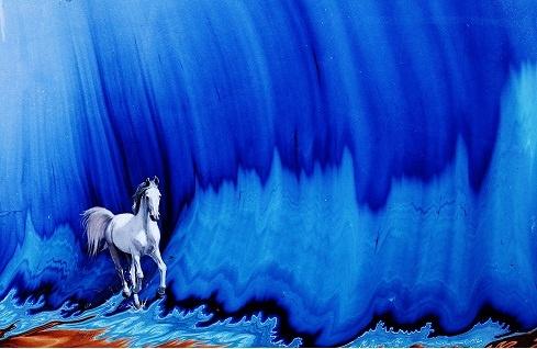 Ebru sanatı - İlker Selimler