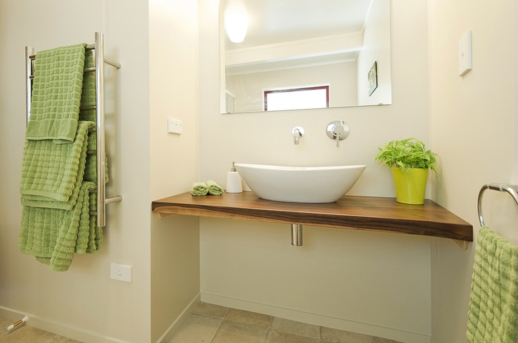 Modern ensuite bathroom at The Top House