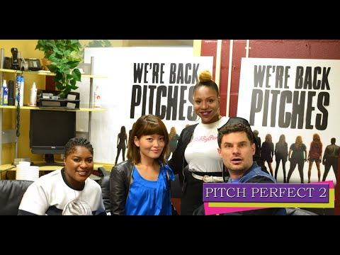 The Cast of Pitch Perfect 2 talk self-identity, teamwork and improv on set