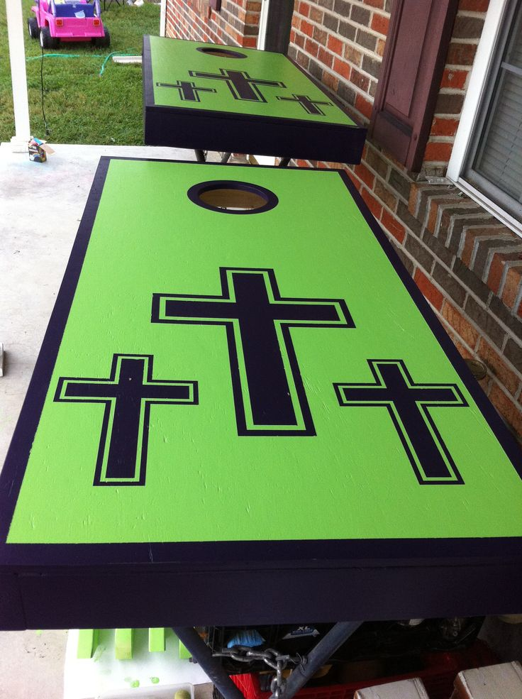 Cornhole boards for the church                                                                                                                                                                                 More