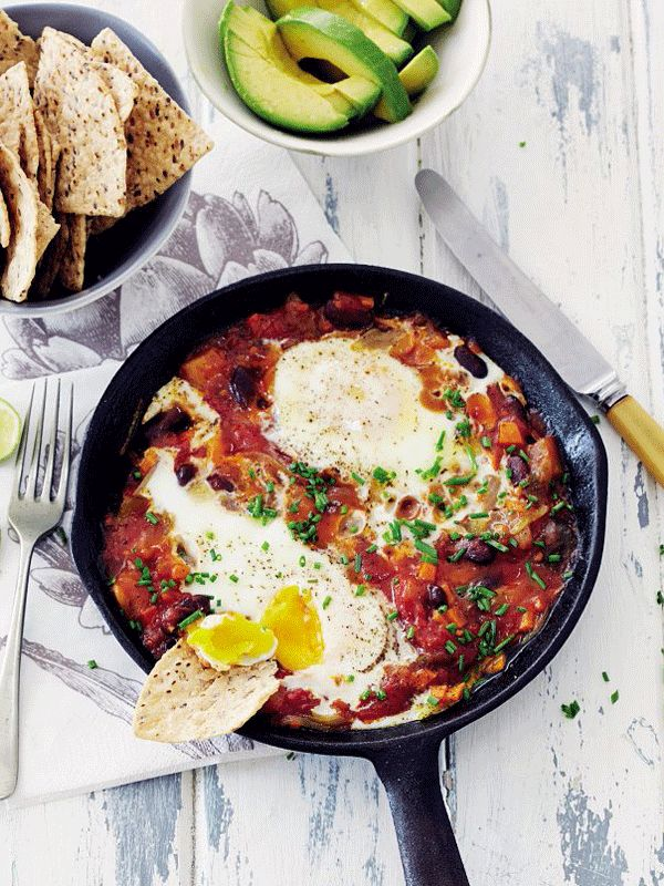 Spice It Up With Mexican Eggs
