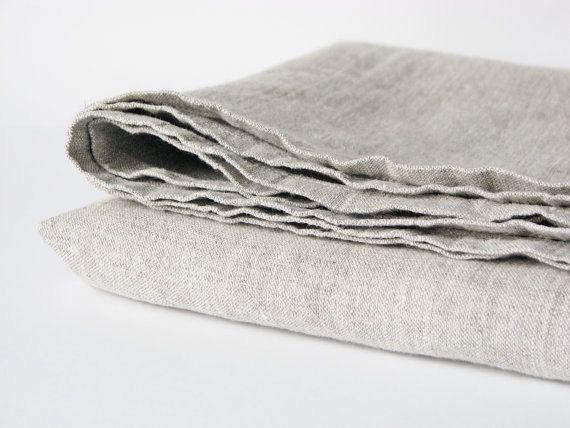 Tovaglia di lino  ammorbidito tavolo di LinenBloomShop su Etsy