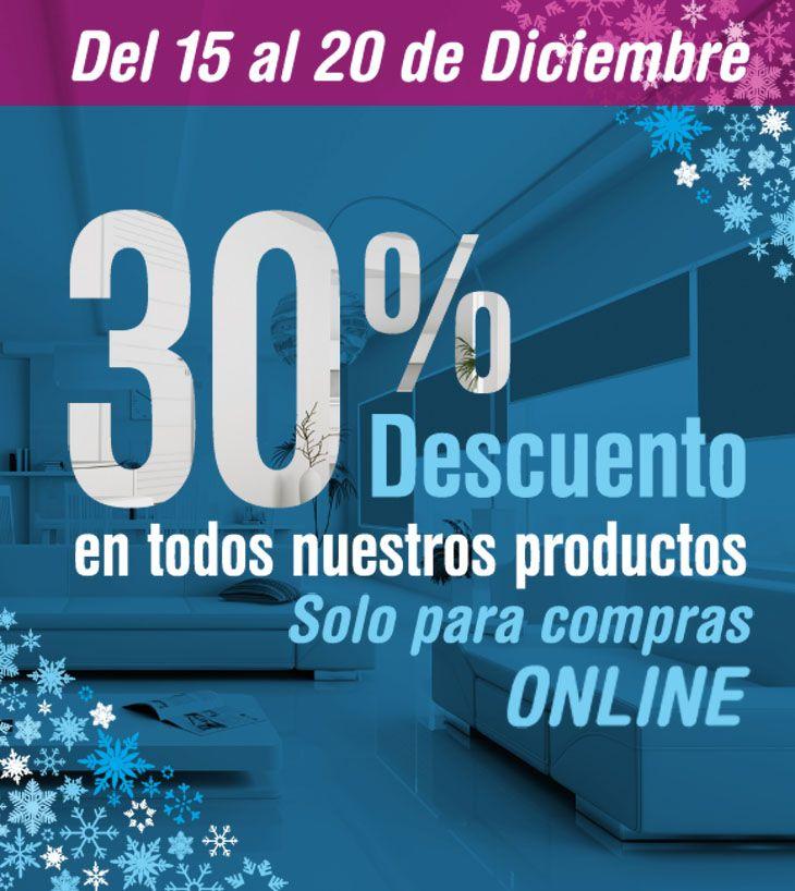 Aprovecha el 30% de descuento en todos los productos de nuestra pagina www.decoramas.cl