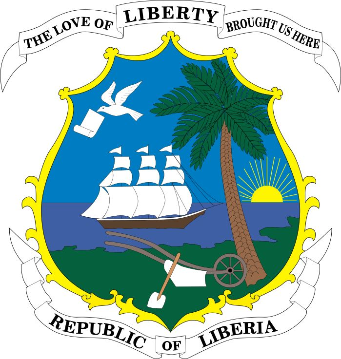 Coat of arms of Liberia - Liberia - Wikipedia, the free encyclopedia