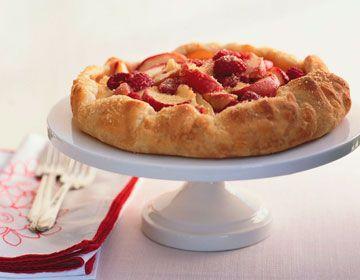 Gingery Nectarine Berry Galette | Kitchen Arts | Pinterest