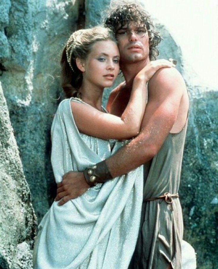 Le Choc des Titans avec Harry Hamlin(Persée) & Judi Bowker(Andromède) (année 1981)