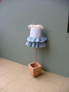 Purple Frangipani Creates: DIY Childs mannequin
