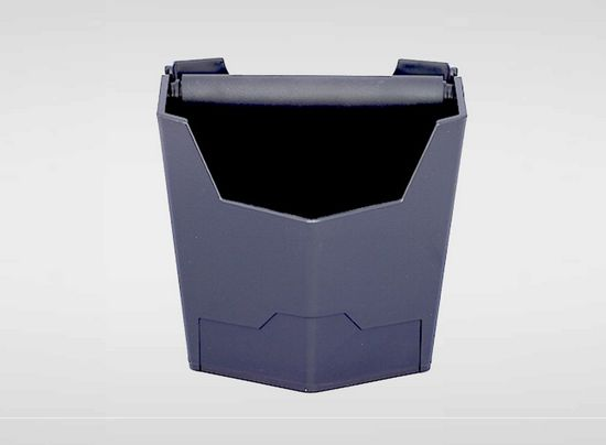 Knock bin - $44.00   This Knok Bin is the perfect domestic/office size, it can fit about 50 used coffee and the middle bar is cover by rubber to avaid any damage to your handles. Size 19x19x15cm